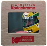 One of Paul-Henri's Kodachrome diapositive